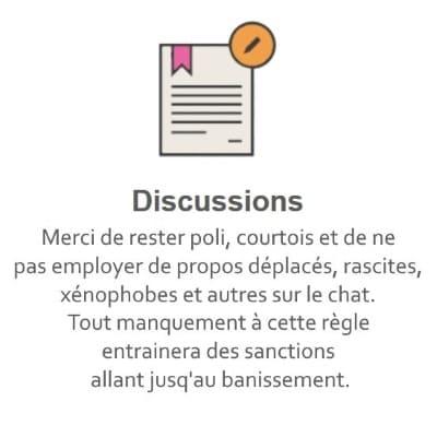 Règles du Tchat Gratuit de Rencontre-Divorce.eu